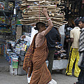 Carrying Cardboard by Sonny Marcyan