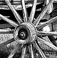 Cart Wheel by Mae Wertz