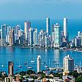 Cartagena Skyscapers by Jess Kraft