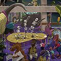 Cartoon Dinosaur Museum by Martin Davey