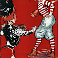 Cartoon Football, 1901 by Granger
