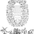 Cartouche, 1635 by Granger