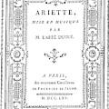 Cartouche, 1765 by Granger