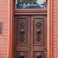 Carved Door by Debbie Duggar
