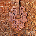 Carved Wooden Door by Art Block Collections