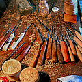 Carving Tools Of Pietro Picetti by Jennie Breeze