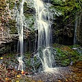 Cascade Falls In The Fall by Rick Lawler