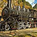 Cascade Mountain Train by Adam Jewell