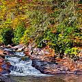 Cascade Of Water by John M Bailey