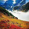 Cascade Pass Peaks by Inge Johnsson