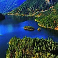 Cascades Lake by Benjamin Yeager