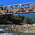 Cascades Rail Bridge by Benjamin Yeager