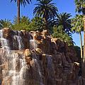 Cascading Rocky Waterfall by Douglas Barnett