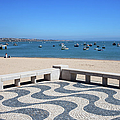 Cascais Promenade And Bay In Portugal by Artur Bogacki