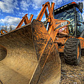 Case Backhoe by David Dufresne