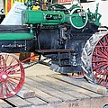 Case Steam Tractor by Nelson Skinner