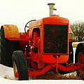 Case Tractor by Jeff Swan