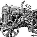 Case Tractor by Rob Christensen