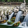 Caserta Palace Fountain 1 by David McAlpine