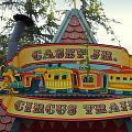 Casey Jr Circus Train Fantasyland Signage Disneyland by Thomas Woolworth