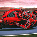 Casey Stoner On Ducati by Paul Meijering
