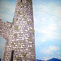 Cashel Tower Ireland by Irving Starr