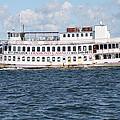 Casino Boat Coming Into Port by John Telfer