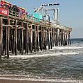 Casino Pier  Seaside  Nj by Neal Appel