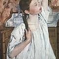 Cassatt, Mary Stevenson 1845-1926. Girl by Everett