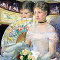 Cassatt's The Loge by Cora Wandel