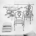 Cast Aluminum Furniture By Molla by Haanel Cassidy