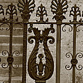 Cast Iron Fence by Dwight Cook
