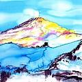 Caste Rock Antarctica by Carolyn Doe