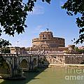 Castel Sant' Angelo by Alex Cassels