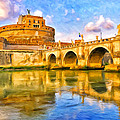 Castel Sant'angelo by Dominic Piperata