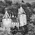 Castell Coch Mono by Steve Purnell