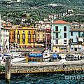 Castelleto Harbor.italy by Jennie Breeze