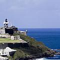 Castillo De San Felipe Del Morro by Mary Lou Chmura