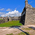 Castillo De San Marcos by Marilyn Holkham
