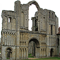 Castle Acre Abbey by Stephanie Grant