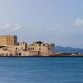 Castle Bourtzi And Buoy by David Waldo