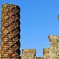 Castle Brickwork by Ann Horn