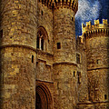 Castle By Moonlight by Lee Dos Santos