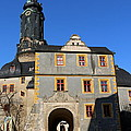 Castle Church Weimar by Christiane Schulze Art And Photography