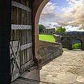 Castle Door by Sharon Foster