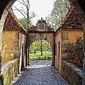 Castle Gate Rothenburg Ob Der Tauber by Jenny Hudson