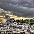 Castle Geyser - Yellowstone by Daniel Hagerman