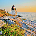 Castle Hill Lighthouse 1 Newport by Marianne Campolongo