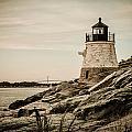 Castle Hill Lighthouse by Sherry Boylan