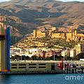 Castle In Almeria Spain by Phyllis Kaltenbach